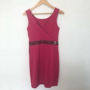 Armani Exchange Fuchsia Sleeveless Dress Size XS